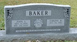 Earline <I>Brown</I> Baker