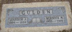 Bernice M <I>Ernsterhoff</I> Gulden