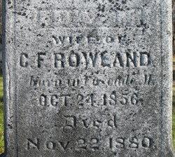 Ida M. Rowland