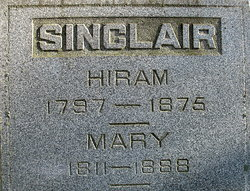 Mary <I>Barker</I> Sinclair