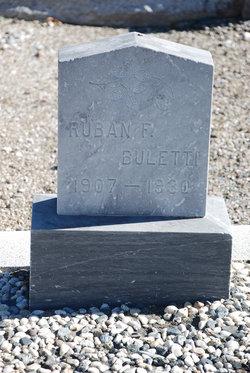 Ruban F Buletti