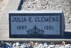Julia E Clemens