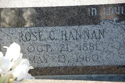 Rose C Hannan