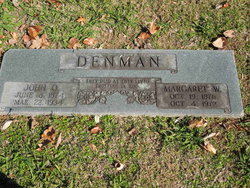 Margaret <I>Williams</I> Denman