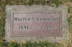 Walter T Anderson