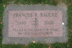 Frances Ruth <I>Grimstad</I> Baucke