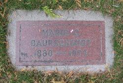 Marie Caroline <I>Clausen</I> Baurschmidt