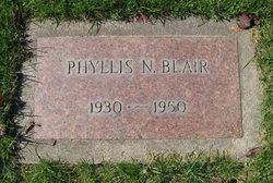 Phyllis N Blair