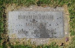 Elizabeth Lucille <I>Frantz</I> Boettcher