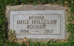 Daise <I>Holsclaw</I> Bounds