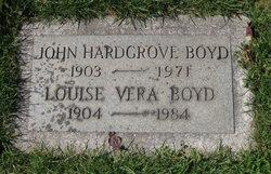Louise Vera <I>Davis</I> Boyd