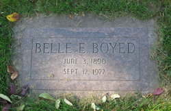 Belle E <I>Brown</I> Boyed