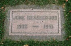 Georgia June <I>Sears</I> Hesselwood
