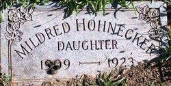 Mildred Hohnecker