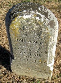 Infant dau of P & Margaret Clark