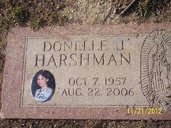 Donelle J Harshman
