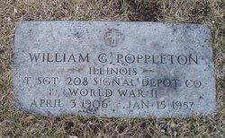 Sgt William G. Poppleton