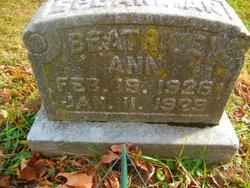 Beatrice Ann Speakman