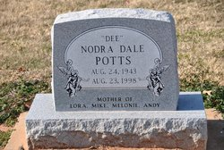 "Norda Dale ""Dee"" Potts"