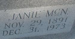 Janie <I>McNeill</I> Martin