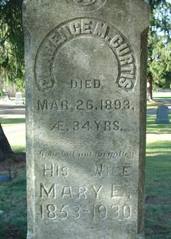 Mary Ellen <I>Flike</I> Curtis