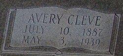 """Avery Cleveland """"Cleve"""" Mullis, Sr"""