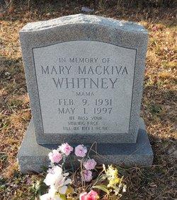 Mary Mackiva <I>Bradley</I> Whitney