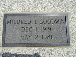 Mildred Irene Goodwin