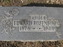 Edward Avert Rozenboom