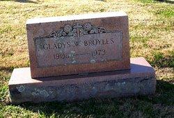 Gladys <I>Williamson</I> Broyles