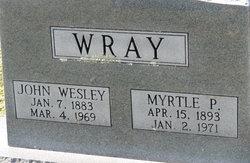 Myrtle P Wray