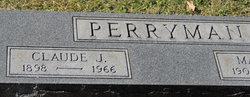 Claude J Perryman