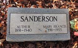Mary Francis <I>Wells</I> Sanderson