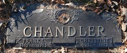 Christine <I>Anderson</I> Chandler