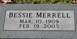 Bessie Merrell