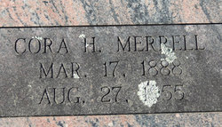 Cora H Merrell