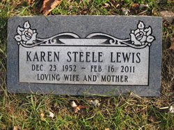 Karen <I>Steele</I> Lewis