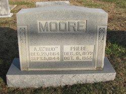 """Allen C """"Bud"""" Moore"""
