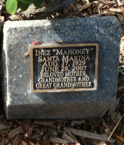 """Inez """"Mahoney"""" Santa Marina"""
