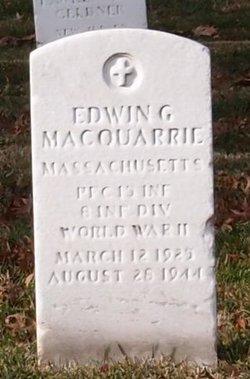 Edwin G MacQuarrie