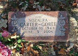"""Nozaura """"June"""" <I>Carter</I> Goree"""