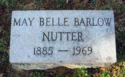 May Belle <I>Barlow</I> Nutter