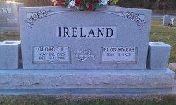 Elon Elizabeth <I>Myers</I> Ireland
