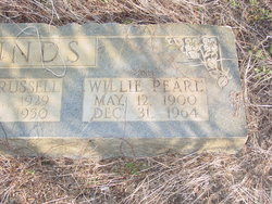 """Willie Pearl """"Earle"""" <I>Evans</I> Pounds"""
