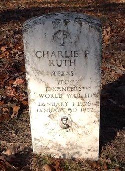 Charlie F Ruth