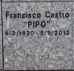 """Francisco """"Pipo"""" Castro"""