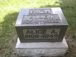 Alice A Rich
