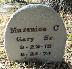 Mursnice C Gary, Sr