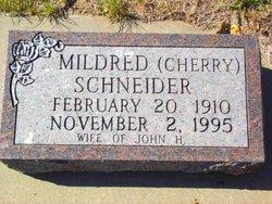 Mildred <I>Cherry</I> Schneider