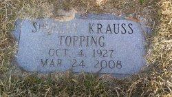 Shirley <I>Krauss</I> Topping